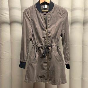 H & M Divided Olive Colored Lightweight Jacket